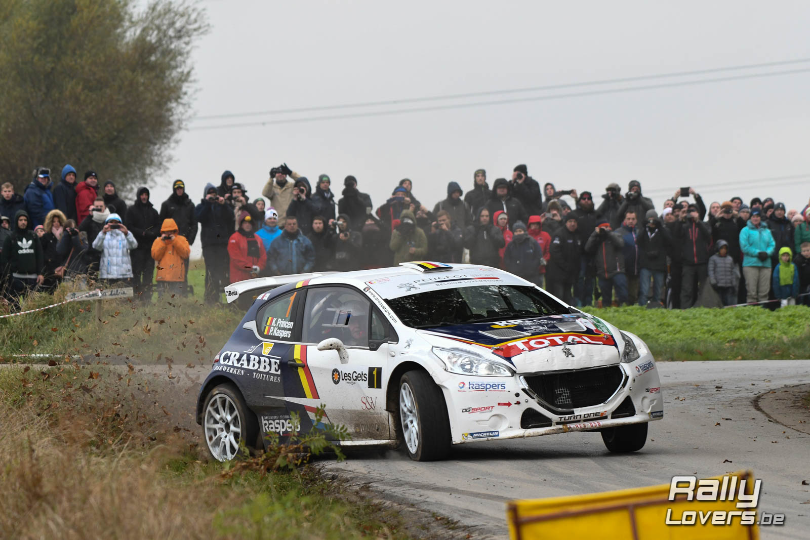 158 deelnemers in 44ste Condroz Rally