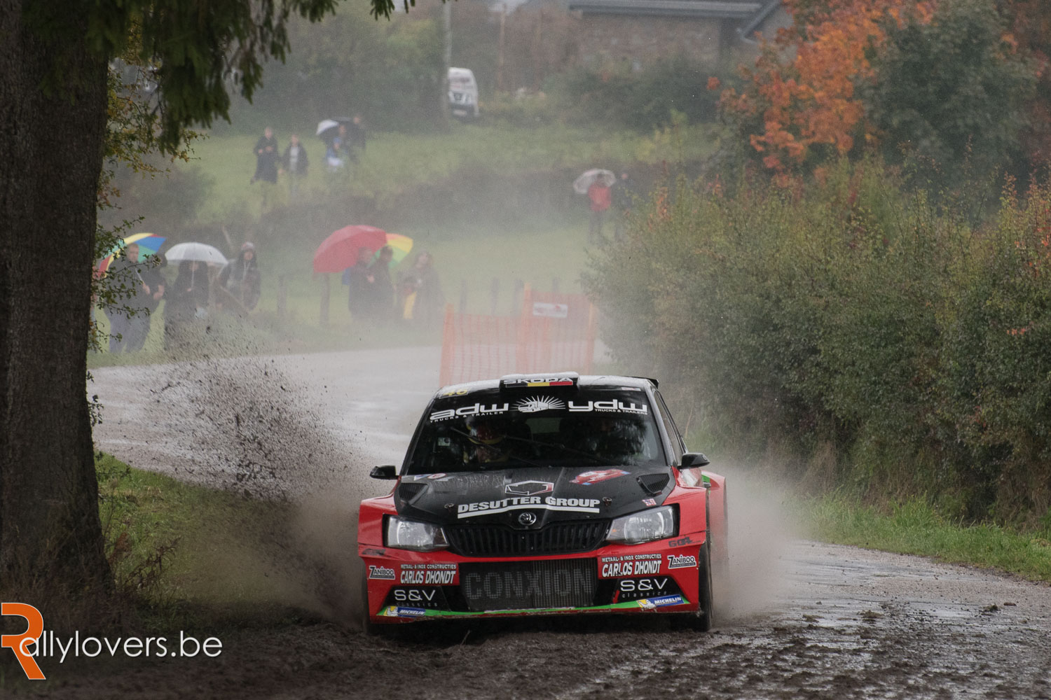 Parcoursveranderingen in East Belgian Rally