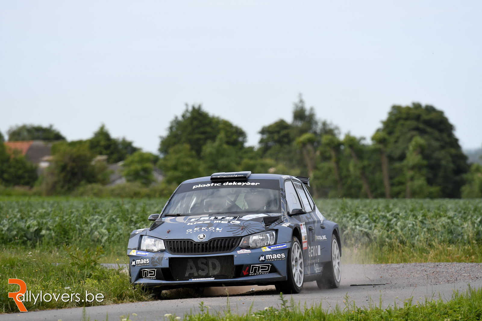 Forfait Melissa Debackere voor Ypres Rally