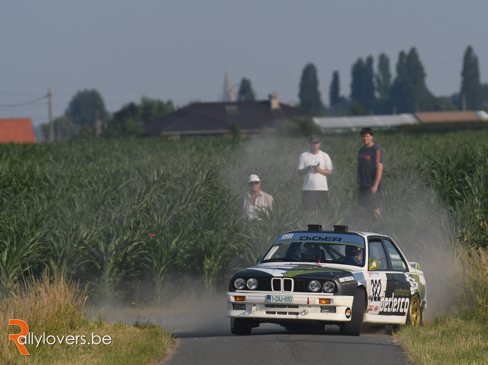 Succesvolle Shakedown Ypres Historic Rally