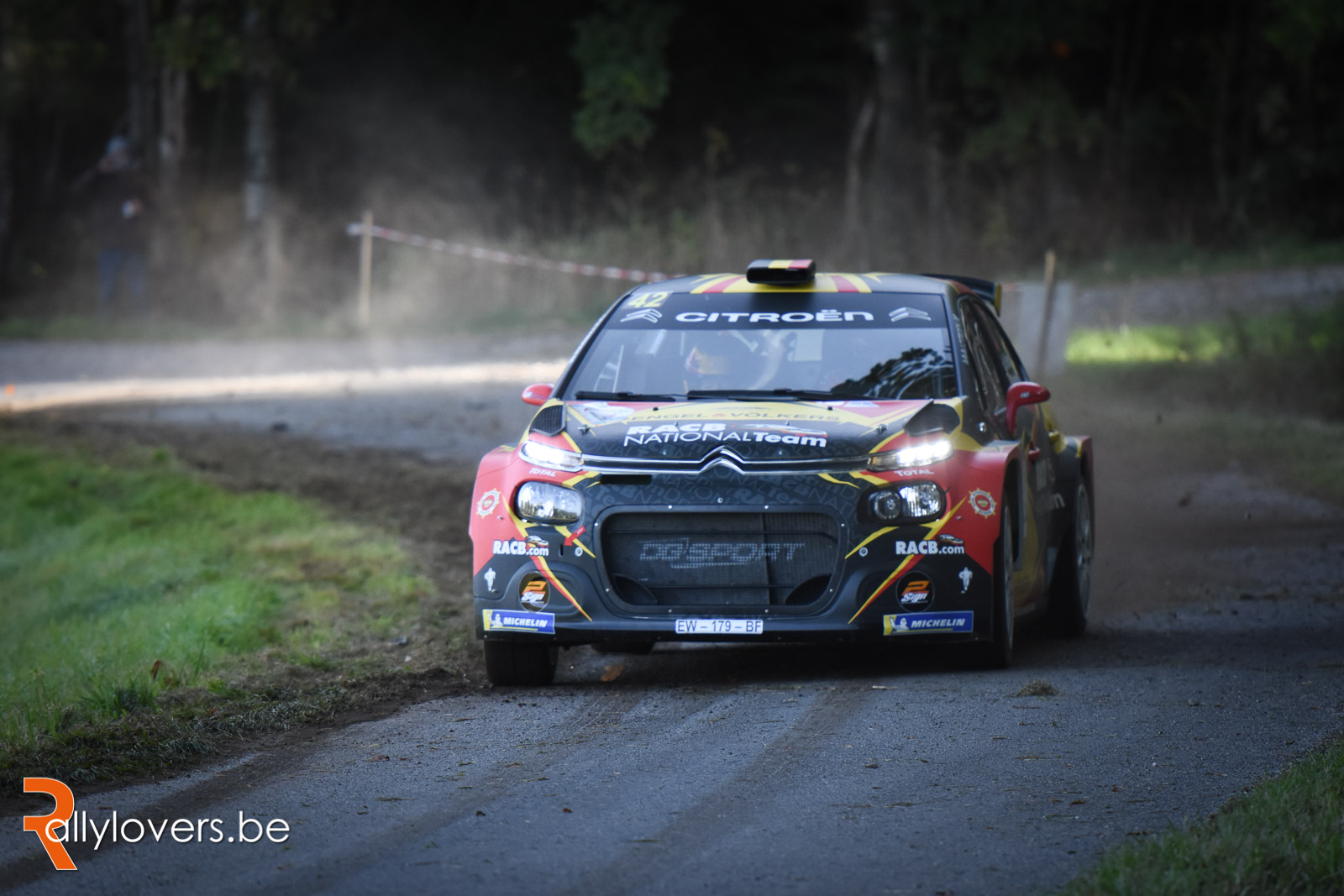 Guillaume de Mevius niet in Condroz Rally