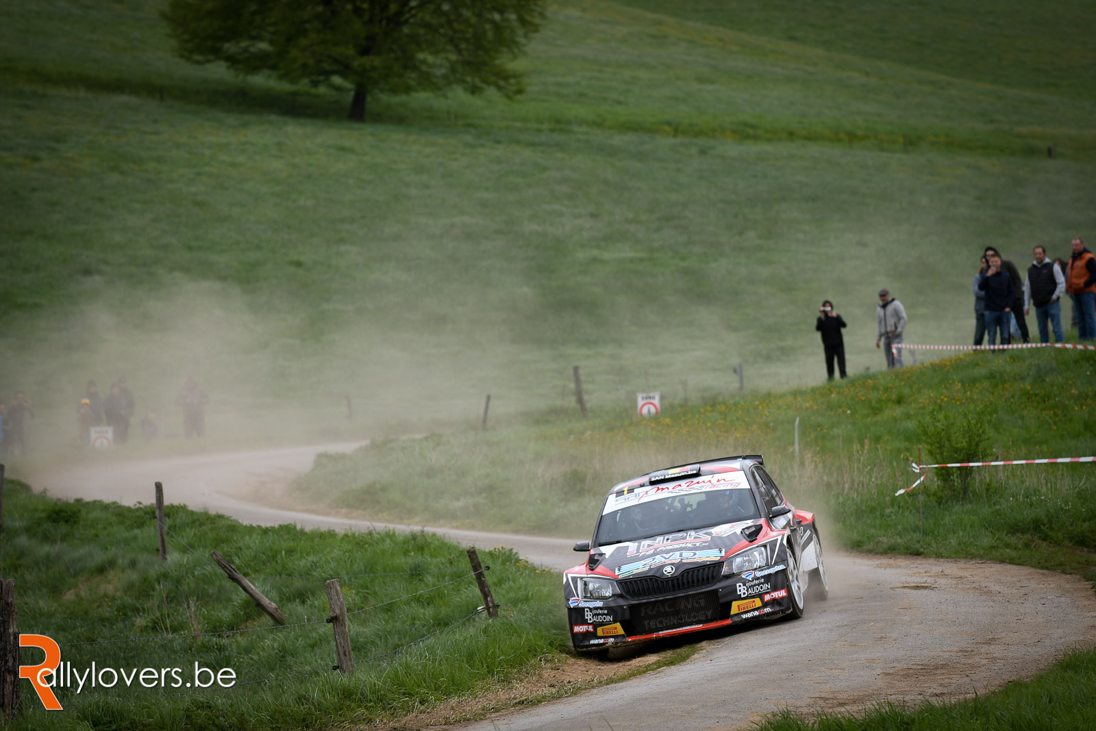Adrian Fernémont ook in Renties Ypres Rally