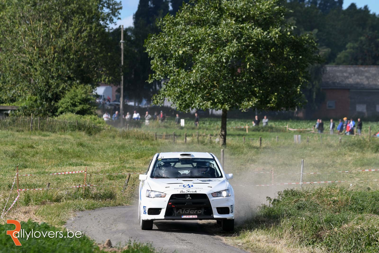 Shakedown Renties Ypres Rally