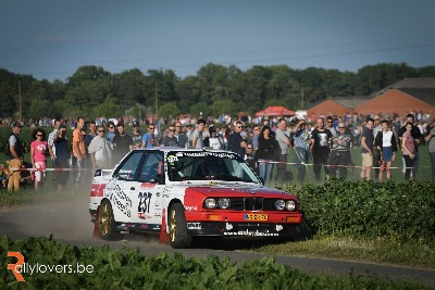 Shakedown Ypres Historic Rally