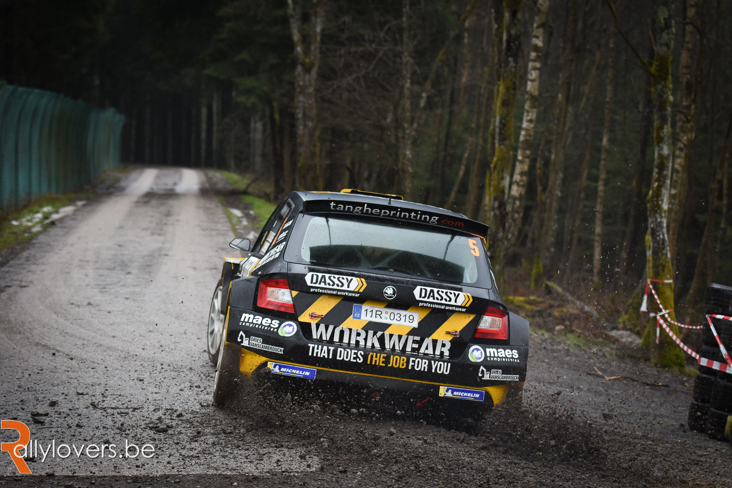 Melissa Debackere tweede in Nederlandse Visual Art Rally