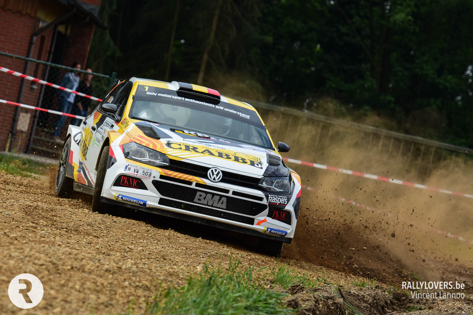 Kris Princen toch aan de start in Renties Ypres Rally