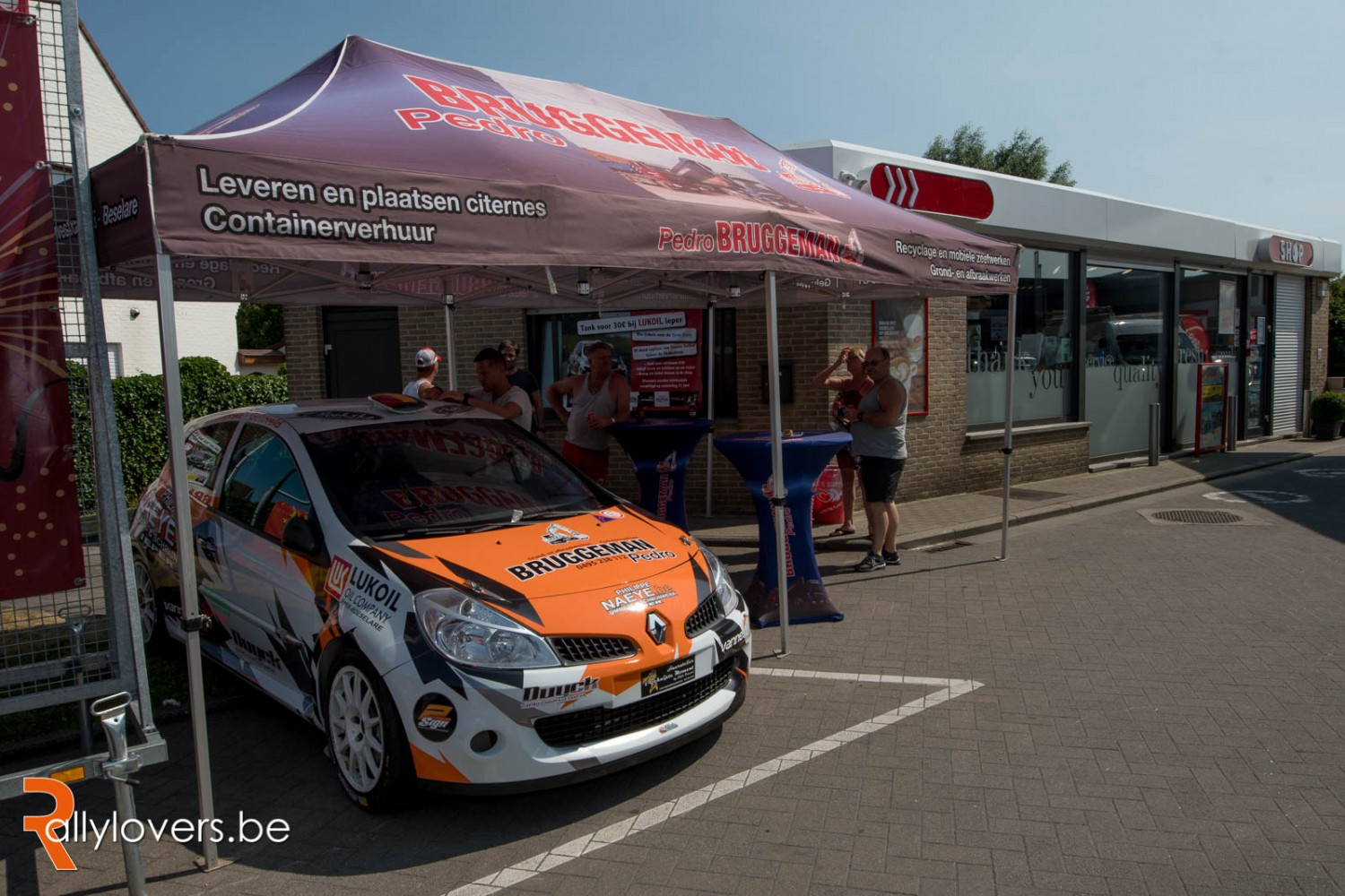 Ypres Rally - Voorstelling Renault Clio R3 Steven Dolfen