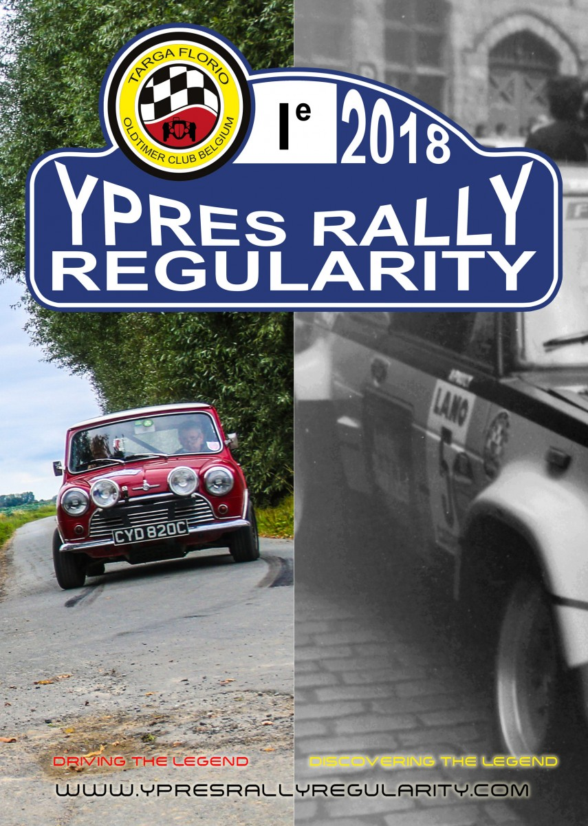 Ypres Rally Regularity 2018 - Een nieuw Superstage evenement in 2018