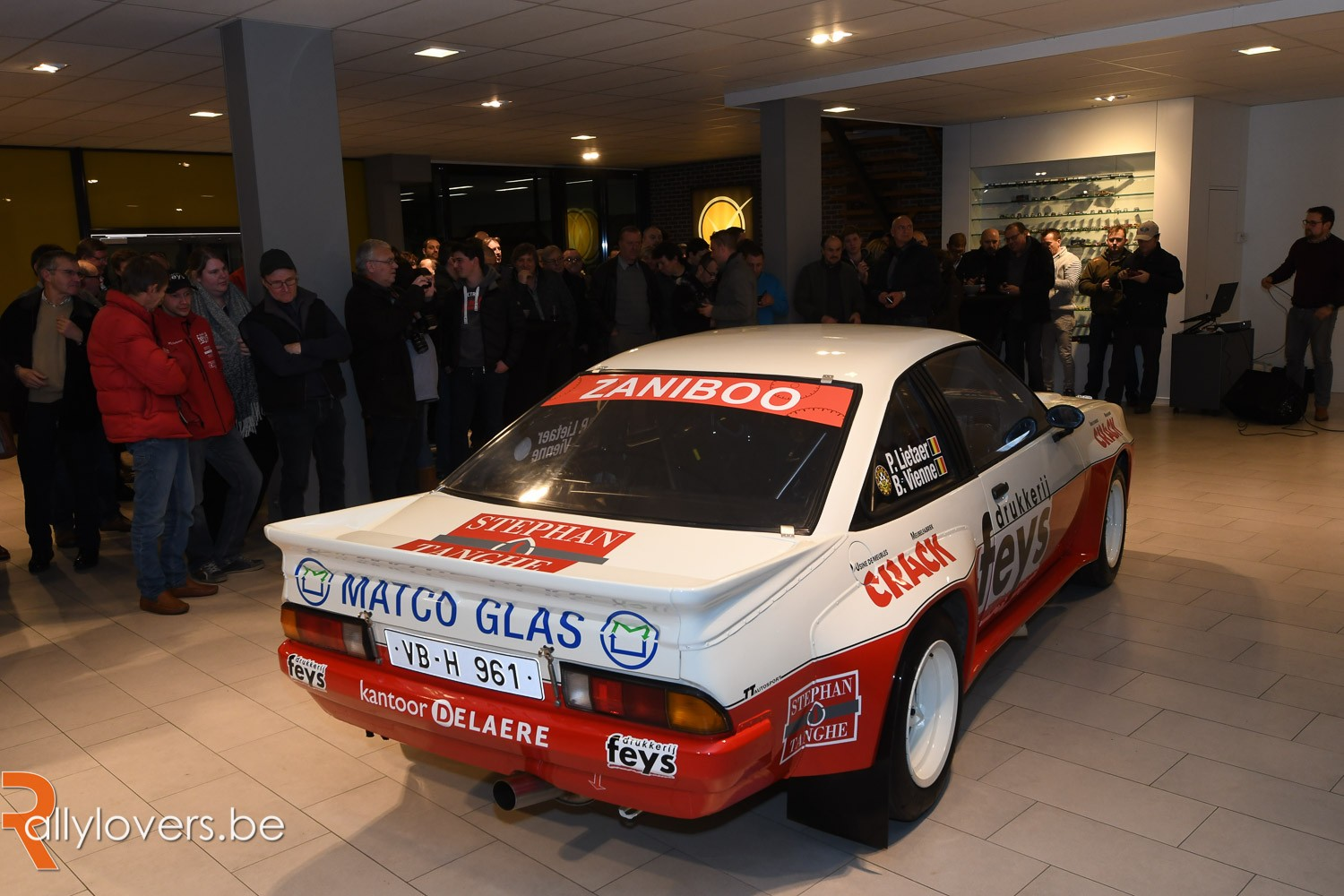 2018 - Paul Lietaer met Opel Manta 400 in Historic BRC