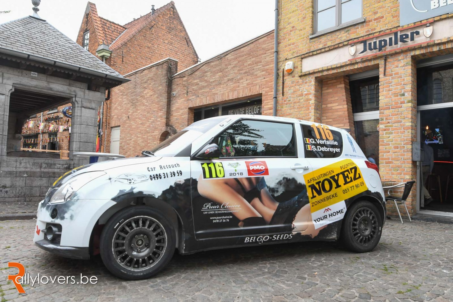 Voorstelling - Suzuki Swift - Gergory Verfaillie - Renties Ypres Rally