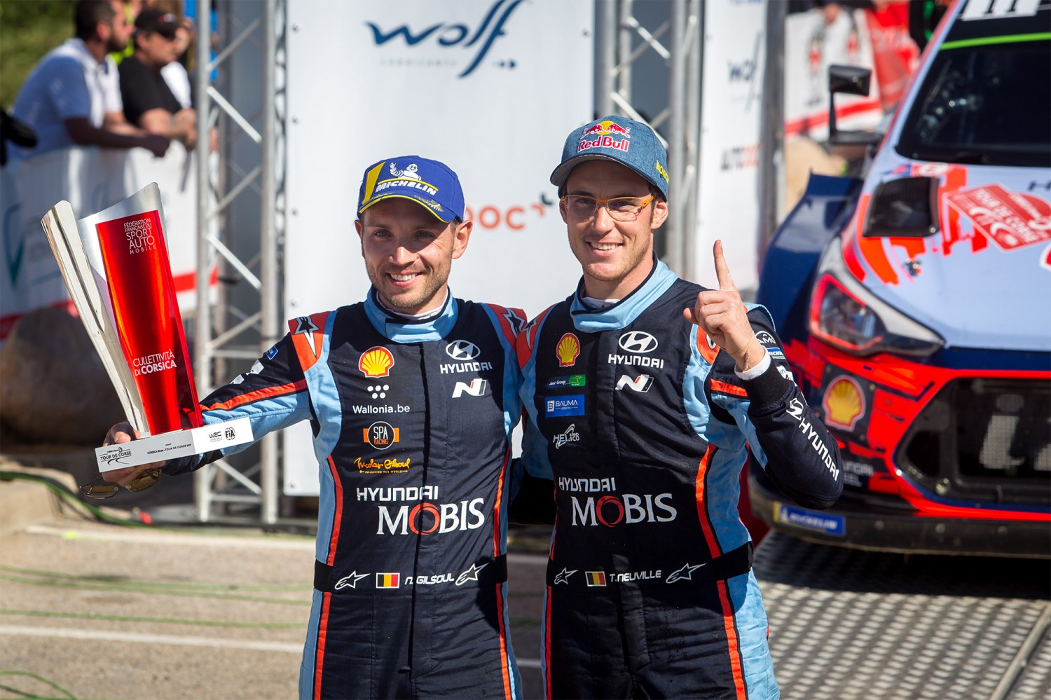 Ypres Rally Masters - Thierry Neuville met de Hyundai i20 Coupé WRC!