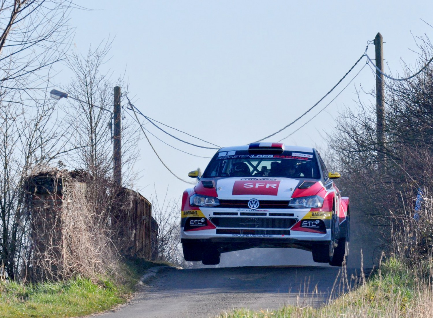 William Wagner met Citroën C3 R5 in Haspengouw Rally