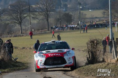 Wedstrijdverslag - Spa Rally - Citroen DS3