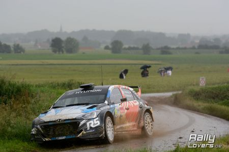 Guillaume Dilley ruilt DS3 R5 voor Huyndai i20 R5...